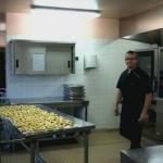 Christophe en cuisine