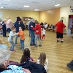 après-midi danses avec les résidents de la maison d'Accueil