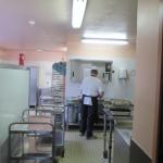 Cuisine du restaurant scolaire