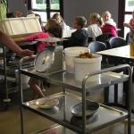 gaspillage alimentaire au restaurant scolaire